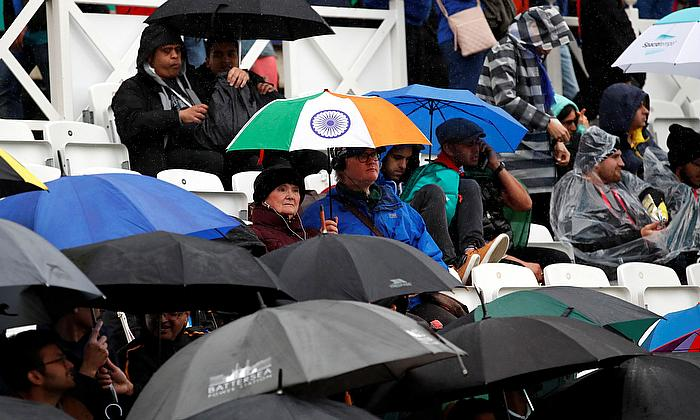 Mr. R Sridhar, Fielding Coach after India's game against New Zealand was abandoned