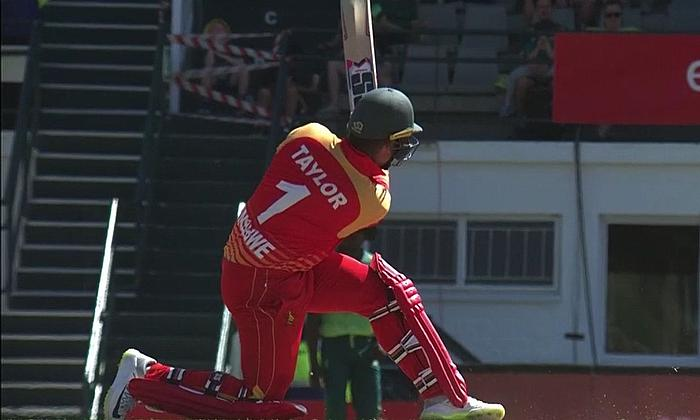 Netherlands beat Zimbabwe in 1st ODI by 7 wickets (D/L)