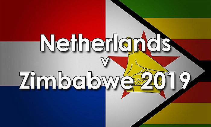 Zimbabwe tour of Netherlands 2019