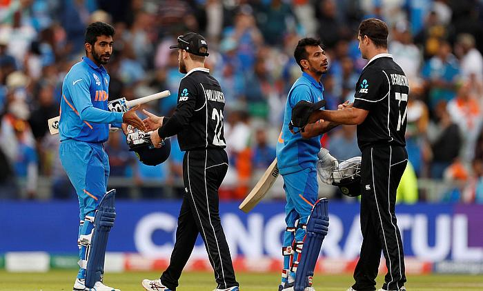 India vs New Zealand Semi-final Highlights