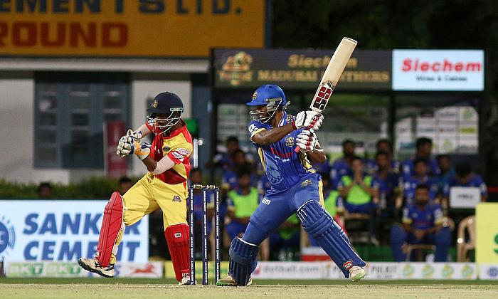 Arun Karthik scored a half-century for Madurai Panthers