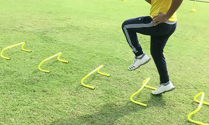 The Perfect Cricket Warm-up with Chinmoy Roy