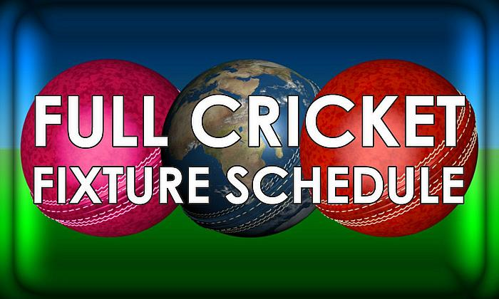 All Cricket Fixtures