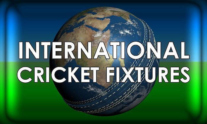 International Cricket Fixtures - 2019