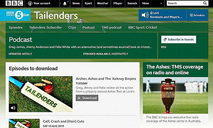Cricket Radio - Audio Clips, Interviews and Podcasts