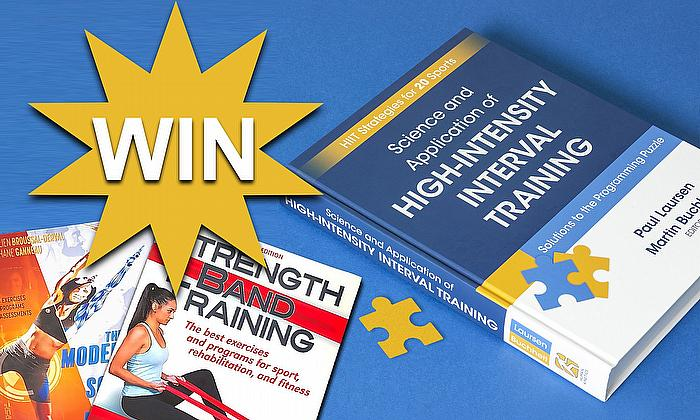 Win a copy of 'Science and Application of High-Intensity Interval Training'