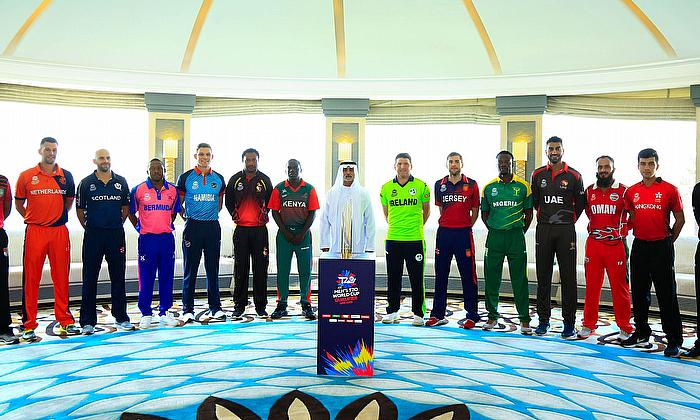 ICC Men's T20 World Cup Qualifier Trophy unveiled in Abu Dhabi