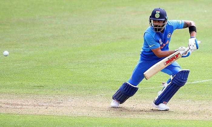 Virat Kohli's 94* helps India chase down 207 against West Indies on a batting beauty in Hyderabad