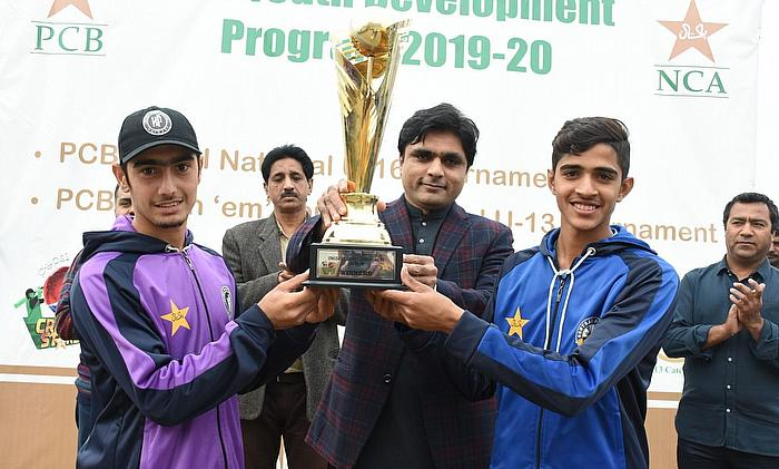 Central Punjab U16, Khyber Pakhtunkhwa U16 Share PCB-Pepsi U16 One-day Trophy