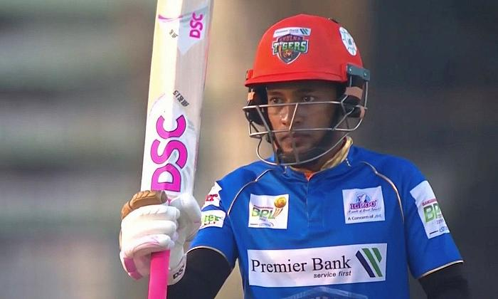 Khulna Tigers beat  Rangpur Rangers by 52 runs in BPL 22th Match