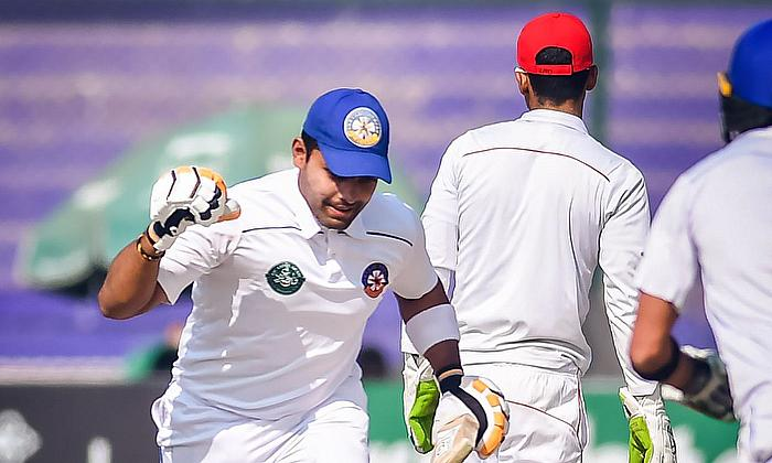 Umar Akmal scored his career's second first-class century on day three of the final of the Quaid-e-Azam - PCB