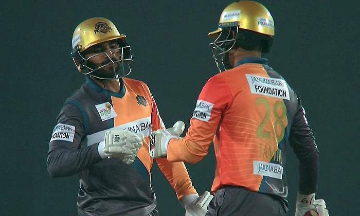 Dhaka Platoon beat Rajshahi Royals by 74 runs in BPL