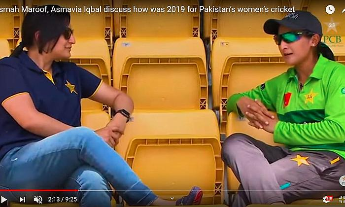 Pakistan women's cricket in 2019