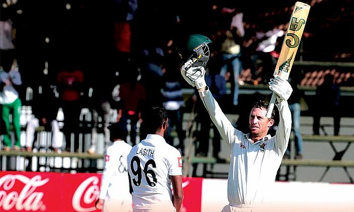 2nd Test Zimbabwe v Sri Lanka: Zimbabwe bat themselves into good position