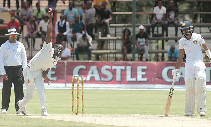 2nd Test Zimbabwe v Sri Lanka Day 2: Zimbabwe have the edge at close of play
