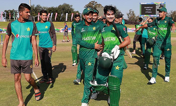 ICC U19 Cricket World Cup: Huraira half-century secures Pakistan S-F spot against India