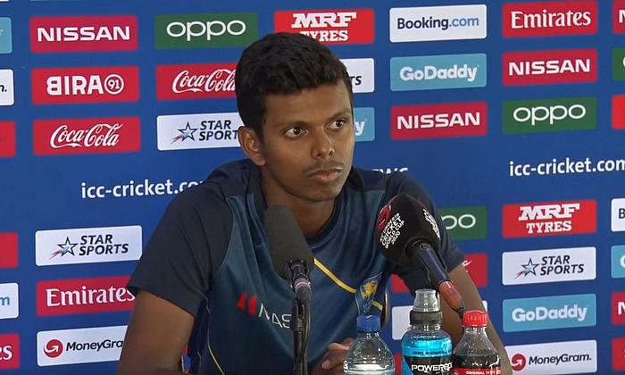 England v Sri Lanka post-match interviewsfrom the ICC U19 Cricket World Cup 2020.