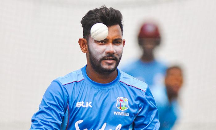 Devendra Bishoo (Jaguars) has taken 243 Championship wickets and needs seven more for 250