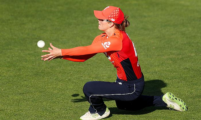 Anya Shrubsole takes three wickets