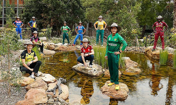 Captains gather at Taronga Zoo ahead of ICC Women's T20 World Cup