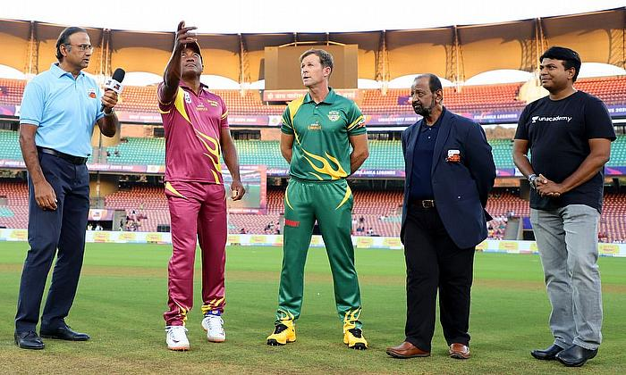 Road Safety World Series T20: South Africa Legends beat West Indies Legends by 6 wickets