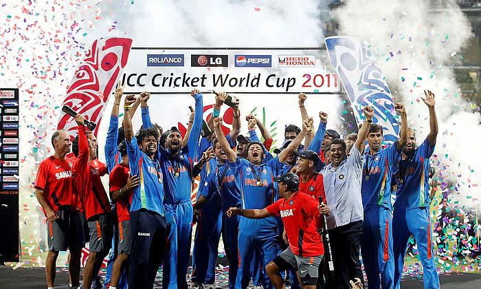 Cricket World Rewind: #OnThisDay - India lift the World Cup after 28 years; the party begins in Mumbai