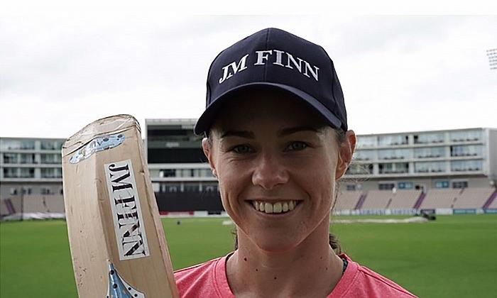 England cricketer, Tammy Beaumont and JM Finn brand ambassador