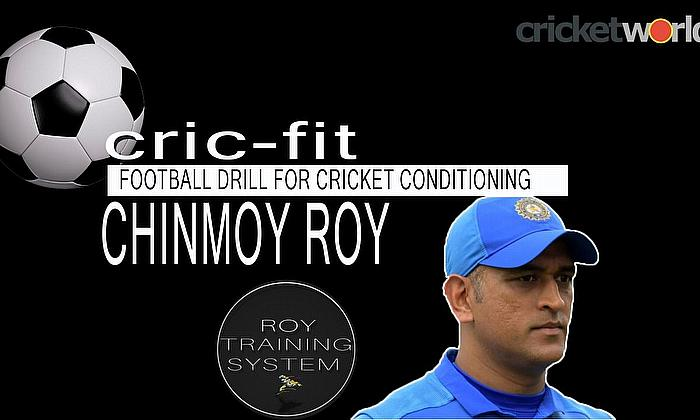 Football Drill for Cricket Conditioning with Chinmoy Roy