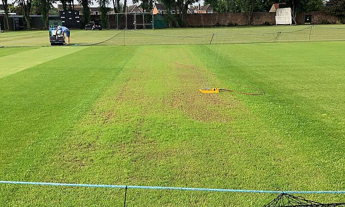 Bourne CC - Groundcare Diary – Week ending June 7th 2020