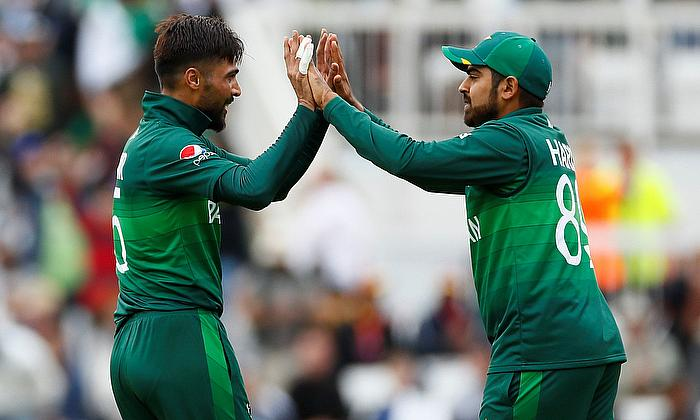 Mohammad Amir and Haris Sohail
