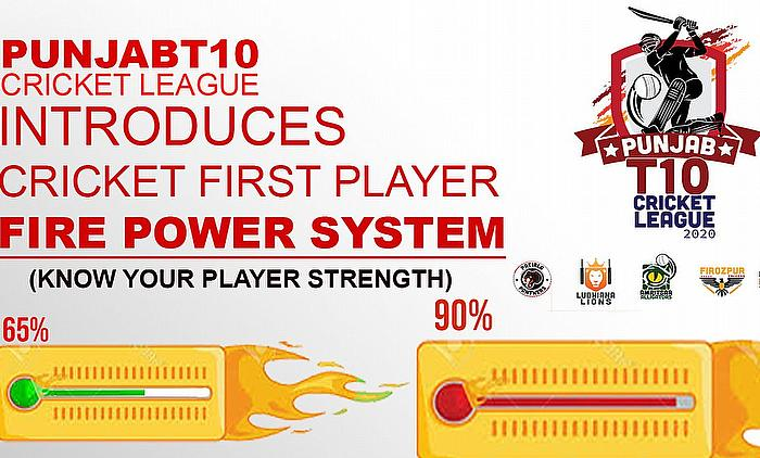 Punjab T10 League introduces Player Fire Power feature for first-ever time in cricket