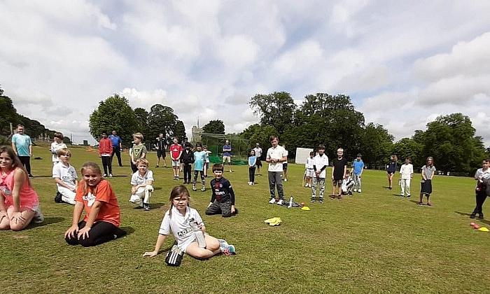 Knebworth Park Cricket Club sees upturn in cricket interest