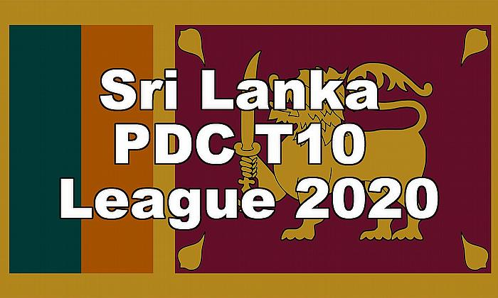 Sri Lanka PDC T10 League 2020