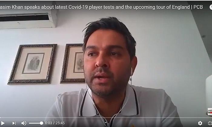 Wasim Khan and Azhar Ali speak about latest Covid-19 player tests and the upcoming tour of England