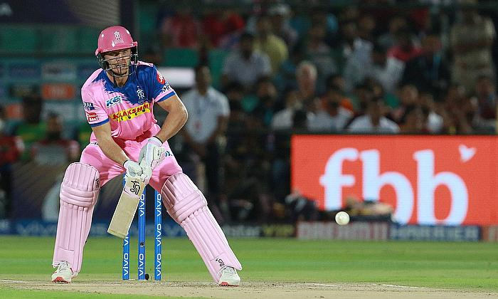 Jos Buttler in action for Rajasthan Royals in IPL 2019