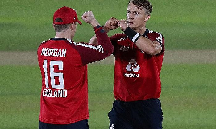 Eoin Morgan speaks after England's victory over Australia in the first Vitality IT20