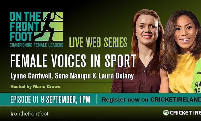 Cricket Ireland launch Women's Leadership web series