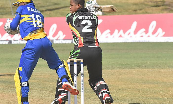 Shimron Hetmyer 80  for Guyana