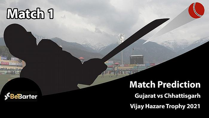 Vijay Hazare Trophy 2020-21 - Gujarat vs Chhattisgarh, Round 1, Elite Group A