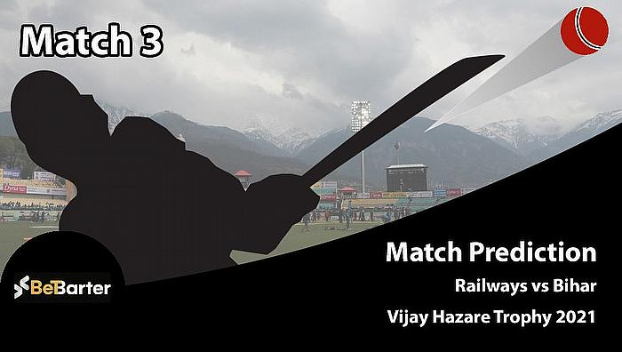 Vijay Hazare Trophy 2020-21 - Railways vs Bihar, Round 1, Elite Group C