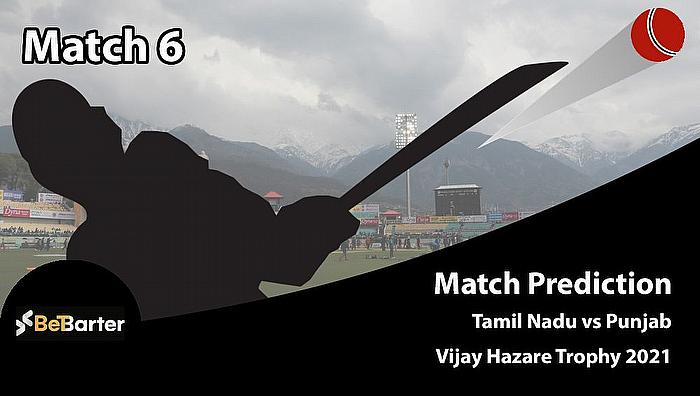 Vijay Hazare Trophy 2020-21 - Tamil Nadu vs Punjab, Round 1, Elite Group B