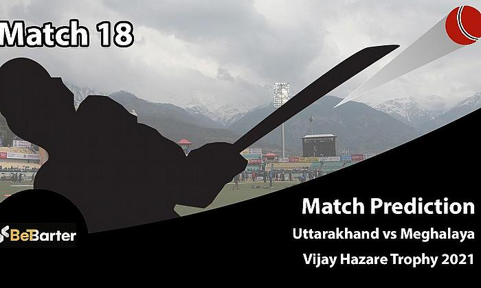 Fantasy Cricket Tips and Predictions: Uttarakhand vs Meghalaya, Round 1, Plate