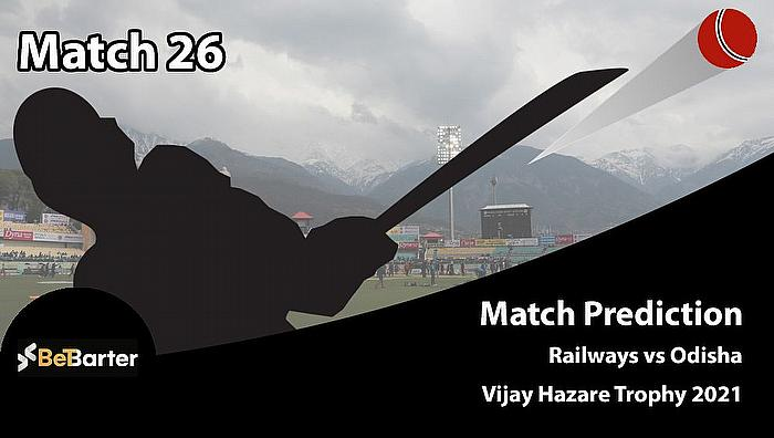 Vijay Hazare Trophy 2021 - Railways vs Odisha, Round 2, Elite Group C