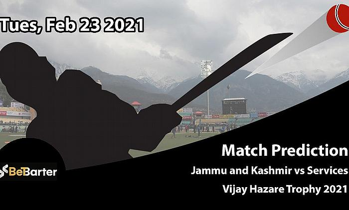 Jammu and Kashmir vs Services, Round 2, Elite Group E