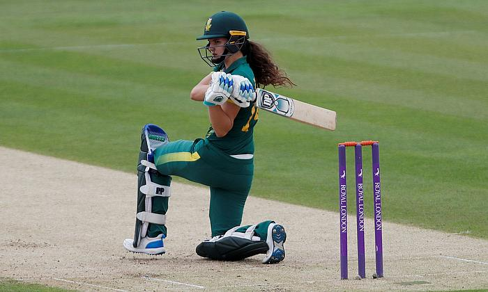South Africa's Laura Wolvaardt in action