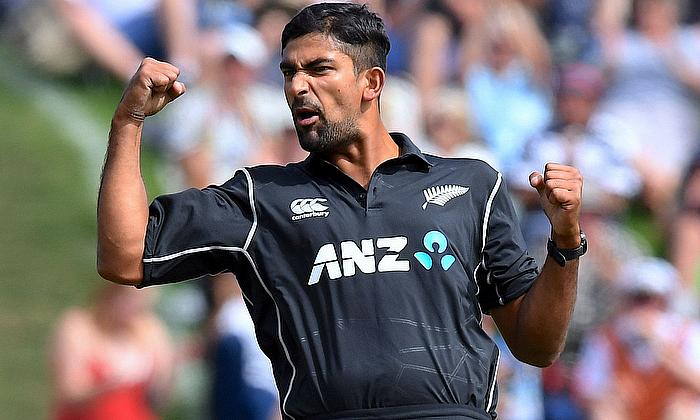 Ish Sodhi 4-28 for New Zealand