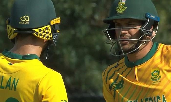 South Africa's Malan and Markram