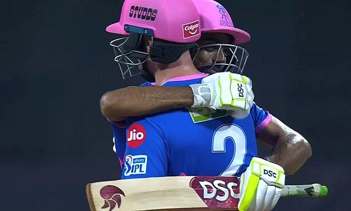 Chris Morris and Jaydev Unadkat celebrate RR take win as DC perish in final over