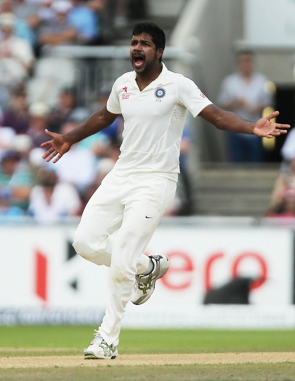 Varun Aaron - the man with the ability to deliver some 'chin music'