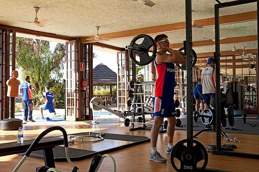 Strength & Conditioning sessions held at the Gym at the Sierras Sports Club at Desert Springs in Spain.